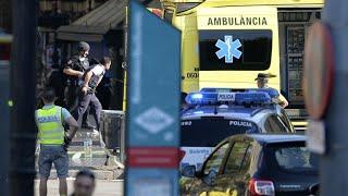 حالة quotهلعquot في برشلونة بعد حادثة دهس وسط المدينة     -