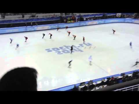 Olympic 5000m Men's Speed Skating Relay - Sochi 2014 Olympic Winter Games