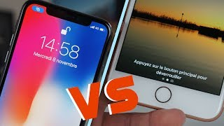 iPhone X : Face ID VS Touch ID
