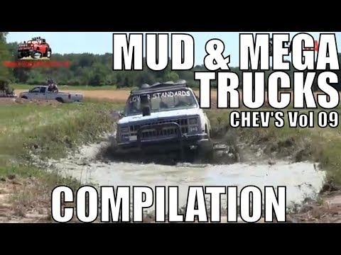 CHEVY MUD & MEGA TRUCK MUD COMPILATION 2018 VOL 09