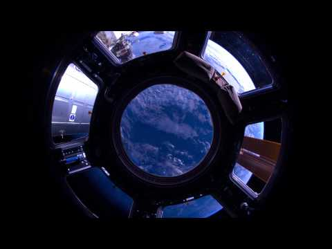ISS Viewscreen Teaser - The First Projection Screen in Space