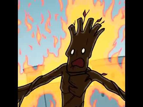 Groot - Tiny Dick's Short Shorts