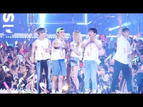 [FANCAM] 170708 SMTOWN LIVE WORLD TOUR VI SHINee 엔딩캠 4K