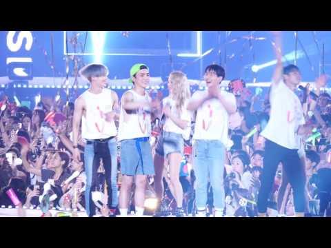 [FANCAM] 170708 SMTOWN LIVE WORLD TOUR VI SHINee 엔딩캠 4K