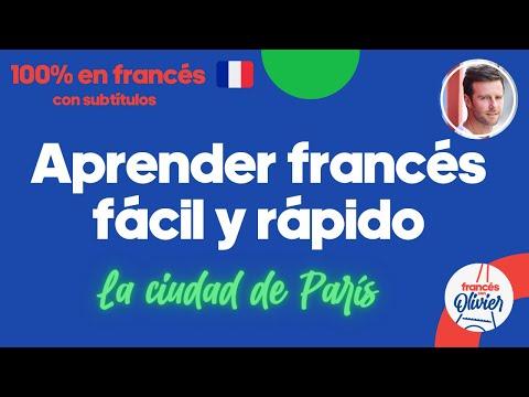 Aprender francés desde la cultura - Método 100% en francés: la ciudad de París.