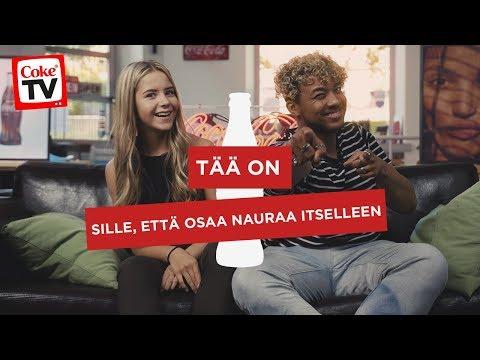 SAANAN JA ANIN PARHAAT PRÄNKIT   #CokeTVSuomi