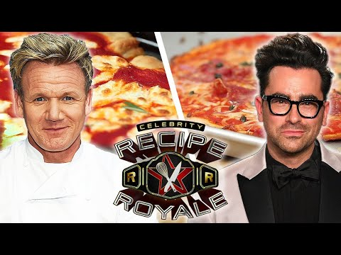 Which Celebrity Makes The Best Pizza? • Celebrity Recipe Royale