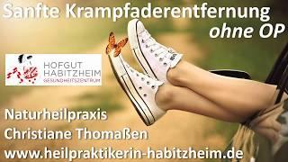 sanfte Krampfaderentfernung ohne OP, Christiane Thomaßen Naturheilpraxis