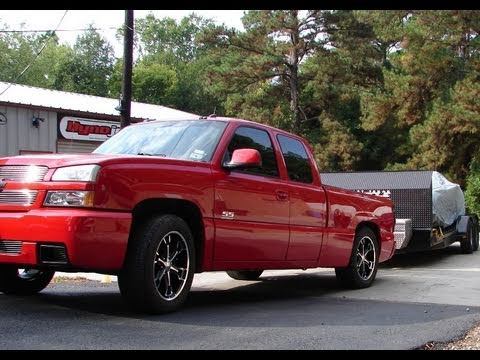 supercharged 2003 silverado ss vs 2007 silverado z71 4x4 tow challenge youtube. Black Bedroom Furniture Sets. Home Design Ideas