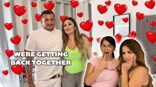 TELLING THE TWINS WE'RE GETTING BACK TOGETHER!! *HILARIOUS*