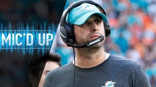 "Adam Gase Mic'd Up vs. Bears ""I Try Not to Think"" 