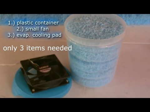 "DIY Smoke Extractor! ""Water Based"" Smoke Fume Odor Removal (cigs to solder fumes!) air purifier"