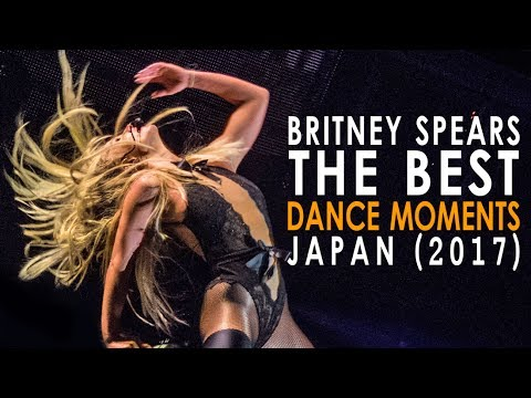 Britney Spears - BEST Dance Moments in Japan! (2017)