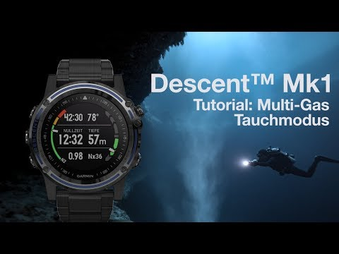Descent™ Mk1 Tutorial - Tauchen im Multi-Gas Modus