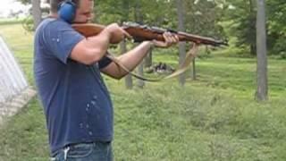 Eric shoots big gun