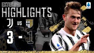 Juventus 3-1 Parma| La doppietta di Alex Sandro e colpo di testa di de Ligt! | Highlights ESTESI