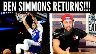 Ben Simmons RETURNS!! | Sixers vs Cavs RECAP & REACTION | Embiid game winner!