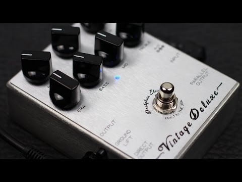 Darkglass Electronics Vintage Deluxe Overdrive Preamp Pedal