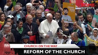 """Pope Francis says a reform of the Church begins """"with a reform of ourselves"""""""