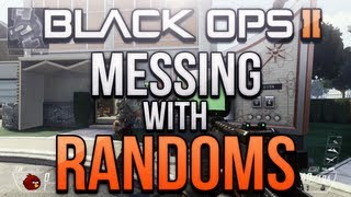 Black Ops 2 - Messing with Randoms #10! (Smurf Penis, Being Psychic and Bomb Trolling!)