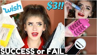 Trying $3 Items/Clothes I Bought From Wish! *SUCCESS!*