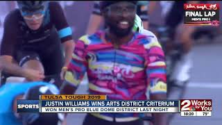 Justin Williams Wins 2nd Tulsa Tough Race