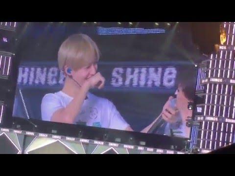 샤이니 자체 음성변조 디디디ㅋㅋㅋ (SHINee Japan Tour 160406)