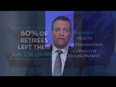 Retirement X-Factor: Unexpected Early Retirement