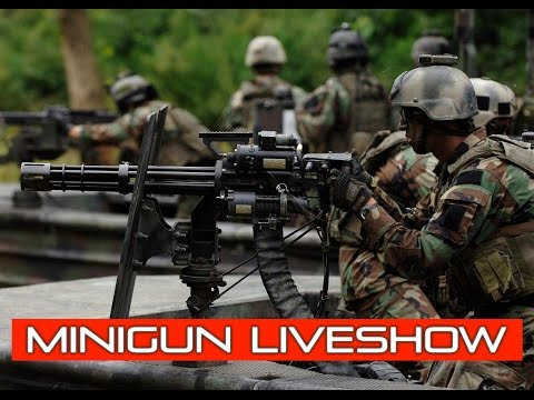 BB Wars & Mini-Gun LIVESHOW! | ft. Bob & Bill | AirsoftGI.Com