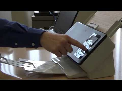 Transaction mode on the Kodak ScanMate i1150 Scanner Preview