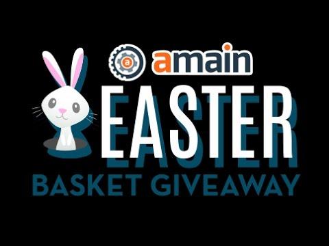 $10,000 AMain Easter Basket Giveaway - Starts Easter Sunday!