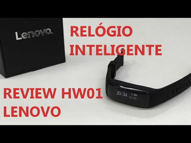 REVIEW SMART WATCH LENOVO HW01 (GEARBEST.COM)