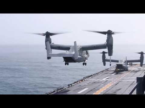 DFN: VMM-162 (Reinforced) lands aboard USS Iwo Jima (LHD 7), UNITED STATES, 02.10.2018