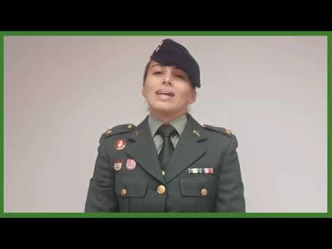 Laura López Reverón, Teniente de la Guardia Civil, 175 Aniversario de la Cartilla del Guardia Civil