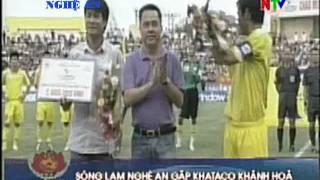 Sông Lam Nghệ An đả bại K.Khánh Hòa