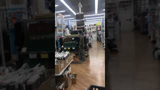 Lingerie woman in Bed Bath & beyond