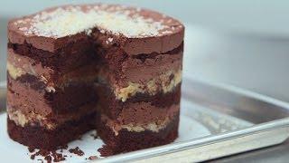 Momofuku Milk Bar's German Chocolate Jimbo Cake   Get the Dish