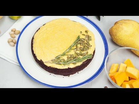 Безглютеновый шоколадный пирог с тыквенным кремом | Исключительная еда