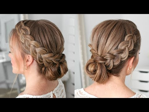 Double Dutch Braids Updo | Missy Sue
