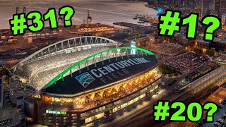 All 31 NFL Stadiums RANKED From WORST to FIRST