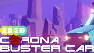 Mijn Mega Blender project: Corona Buster Car!