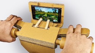 How to make Gaming Steering from Cardboard