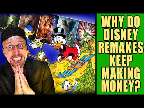 Why Do Disney Remakes Keep Making Money?