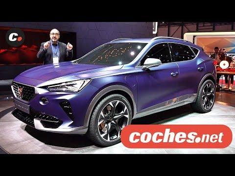 Cupra Formentor Concept | Salón de Ginebra 2019 en español | Coches eléctricos | coches.net