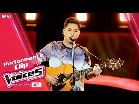 The Voice Thailand - บลู บัญชา - Live & Learn - 18 Sep 2016
