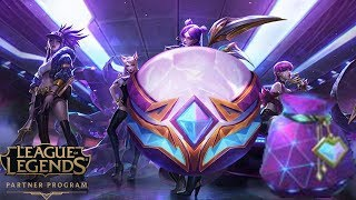 INSANE LUCK WHAT IS THIS??? KDA ORB OPENING!!! LEAGUE OF LEGENDS OPENING