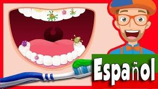 Canción cepilla tus dientes por Blippi   2-Minutos Cepilla tus dientes para niños
