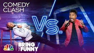 Stand-Up Comics Ali Siddiq vs. Orlando Leyba: Comedy Clash - Bring The Funny