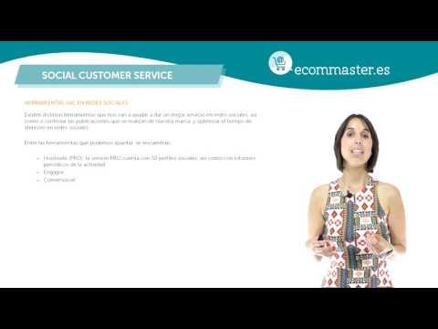 Curso Community Manager 2/5 Herramientas SAC RRSS Social Customer Service