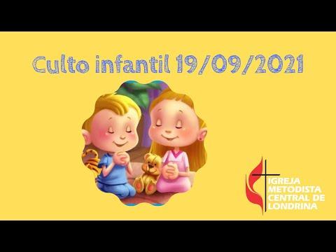 Culto infantil 19/09/2021
